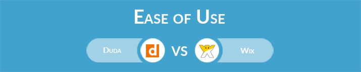 Duda vs Wix: Which One Is Easier to Use?