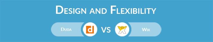 Duda vs Wix: Design and Flexibility