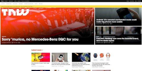 The Next Web – online magazine