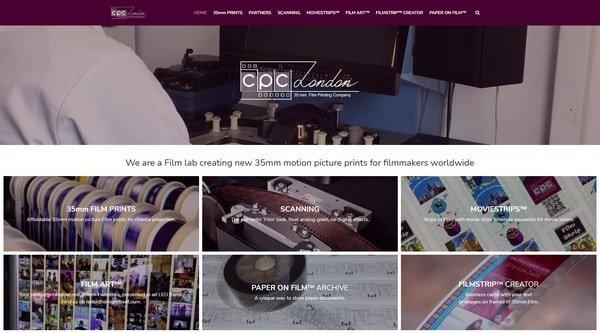 CPC London – a film lab