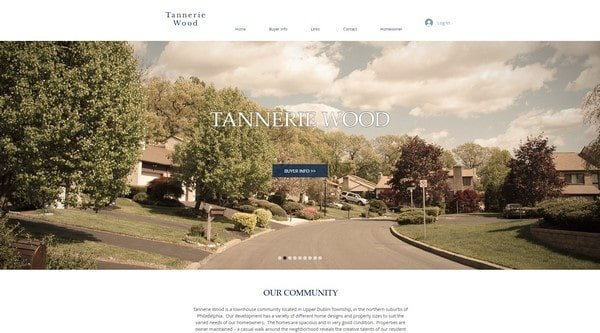 Tannerie Wood – real-estate website