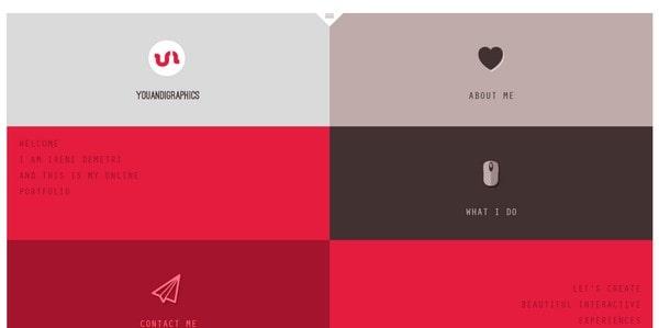 You and I graphics – web designer portfolio