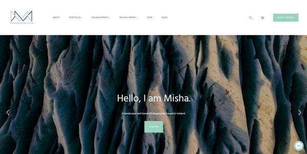 Misha Martin – photographer from Iceland