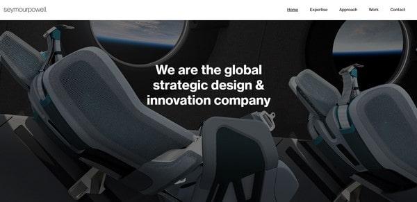 Seymour Powell – digital design agency
