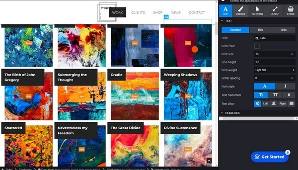 SiteJet themes