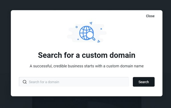 Yola custom domain