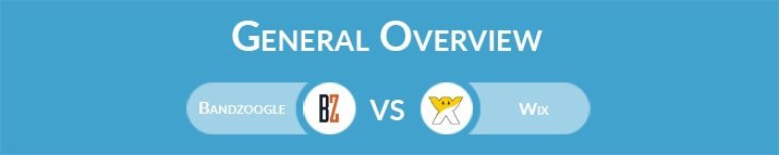Bandzoogle vs Wix: General Overview