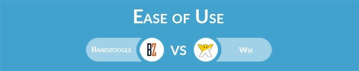 Bandzoogle vs Wix: Which One Is Easier to Use?