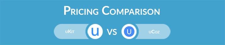 uKit vs uCoz: General Pricing Comparison