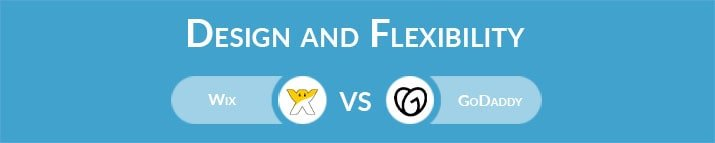 Wix vs GoDaddy: Design and Flexibility