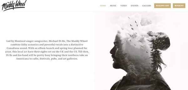 The Muddy Wheel – a songwriter