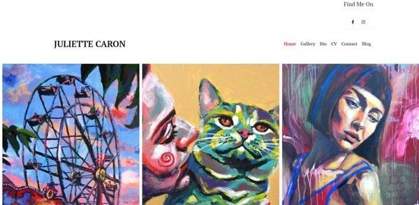 Juliette Caron – an artist portfolio