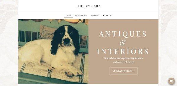 The Ivy Barn – designer furniture