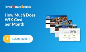 How Much Does WIX Cost per Month