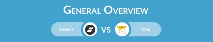 Showit vs Wix: General Overview