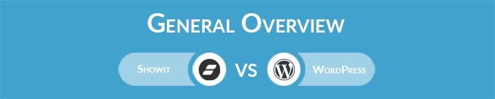 Showit vs WordPress: General Overview