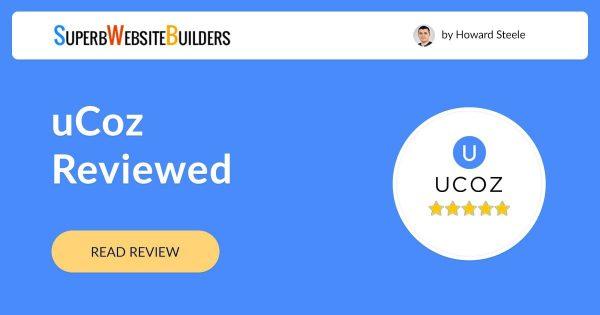 uCoz Website Builder Review