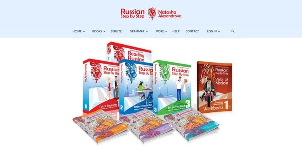 Russian Step By Step – Russian learning guides