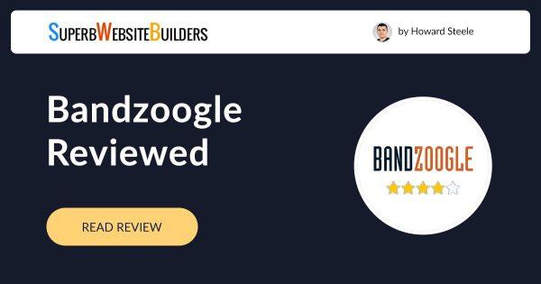 Bandzoogle Website Builder Review