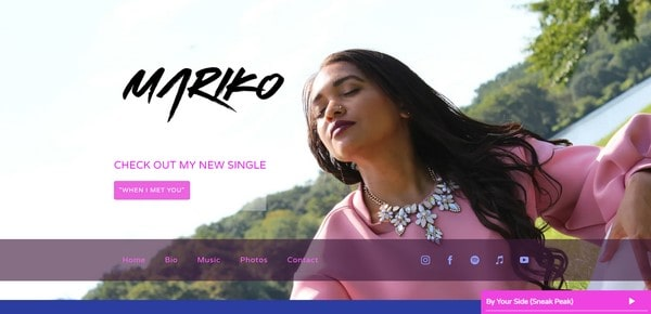 Mariko – ethnic and pop singer