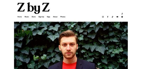 Z by Z – songwriter, singer, and composer