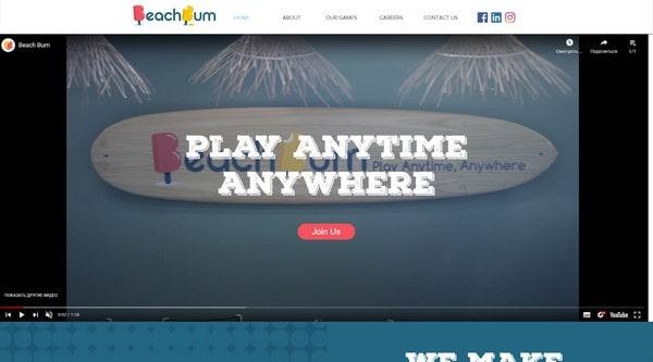 Beach Bum Games