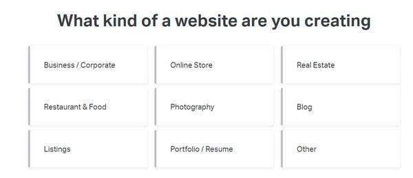 elementor choose site category