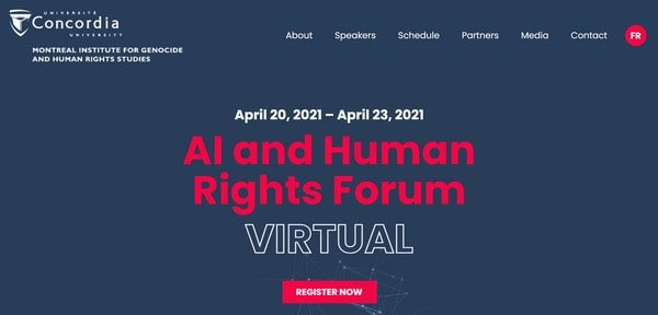 Human Rights AI – the virtual forum
