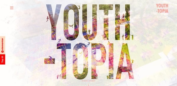 Youth-Topia – Scape Your Park website