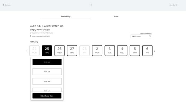 squarespace bookings