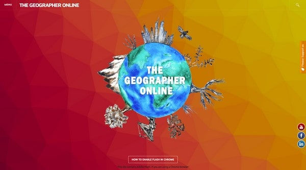 The Geographer Online