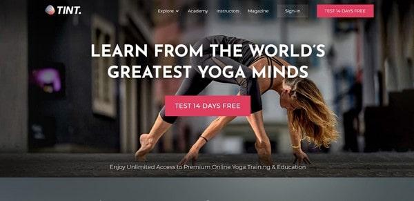 TINT Yoga – online yoga classes