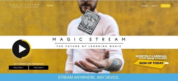 Magic Stream – a learning portal