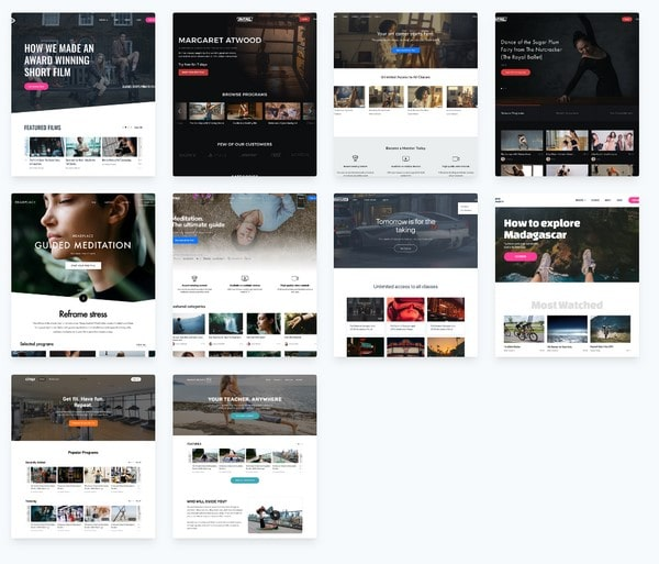 uscreen templates