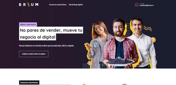 BRIUM – a digital marketing agency