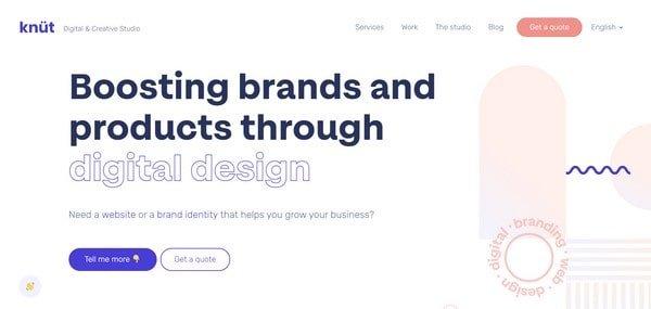 Knut Studio – a creative digital studio