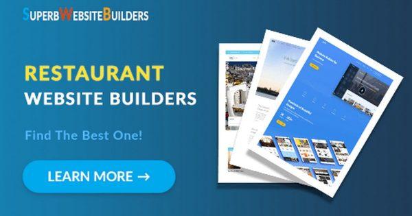 Best Restaurant Website Builders
