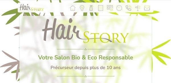 Hair Story – an online beauty salon and shop
