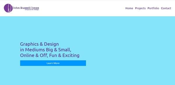 John Russel Jones – graphics and design
