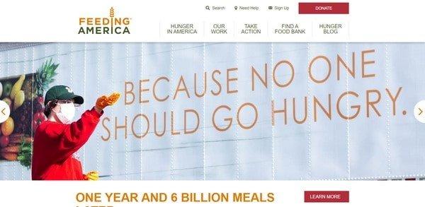 Feeding America – a non-profit organization