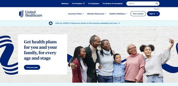 United Healthcare – an insurance company