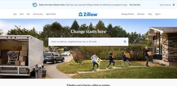 Zillow – real estate