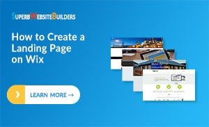 How to Create a Landing Page on Wix