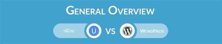 uCoz vs WordPress: General Overview