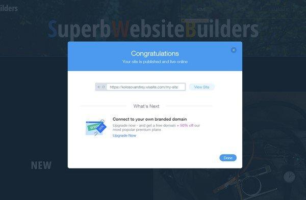 wix publish
