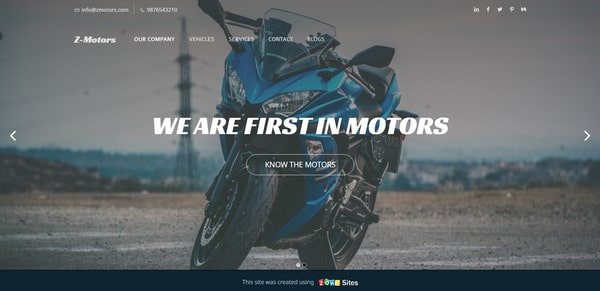 Z-Motors – auto and moto seller