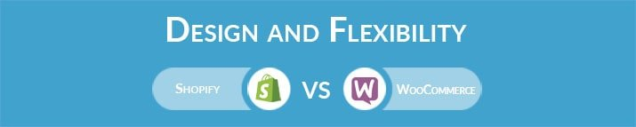 Shopify vs WooCommerce: Design and Flexibility