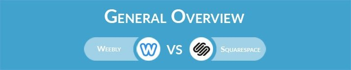 Weebly vs Squarespace: General Overview