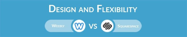 Weebly vs Squarespace: Design and Flexibility