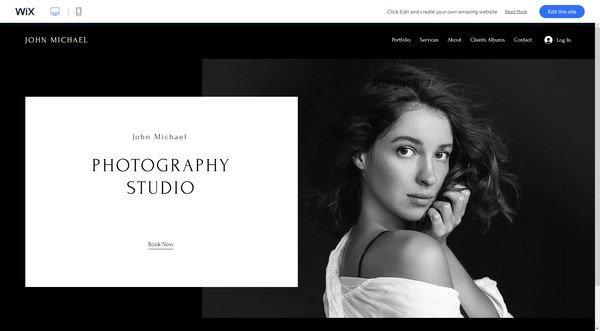 Starting a Photography Portfolio on Wix